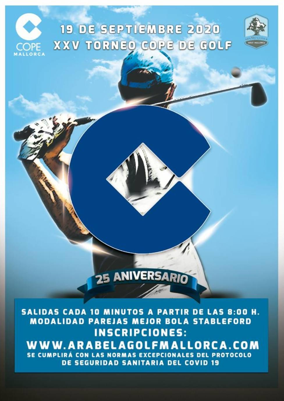 XXV edición del Torneo COPE de Golf