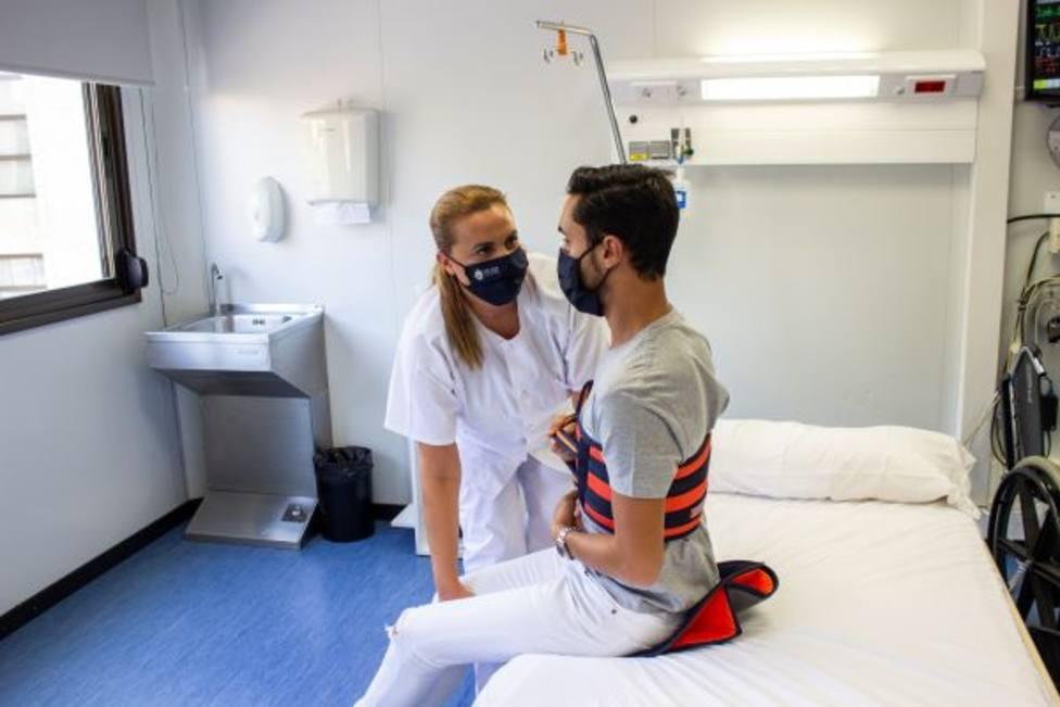 La UCAM participa en un estudio europeo para mejorar la movilización de enfermos