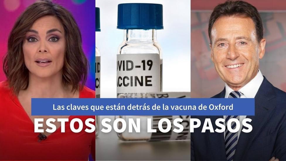 Un investigador de Oxford explica a Matías Prats y Mónica Carrillo las claves de la vacuna contra la covid-19