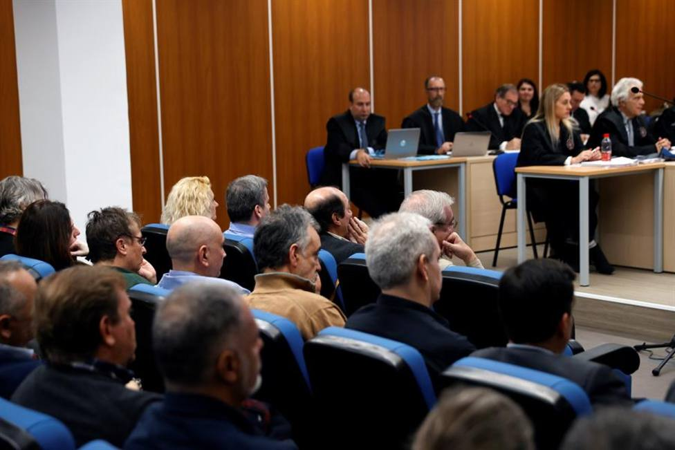 Vista general del juicio a los 133 controladores acusados de abandonar sus funciones