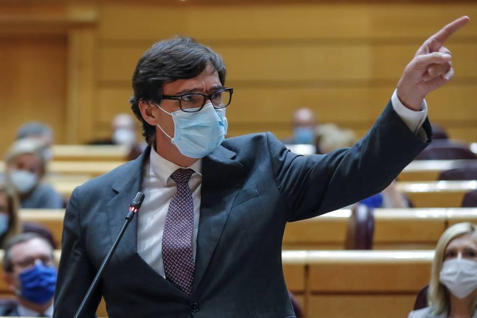 Salvador Illa estalla en el Senado: ¿Quién se preocupa por los madrileños?