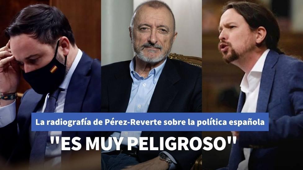 La radiografía de Pérez-Reverte sobre la política española tras la moción de censura de Abascal a Sánchez