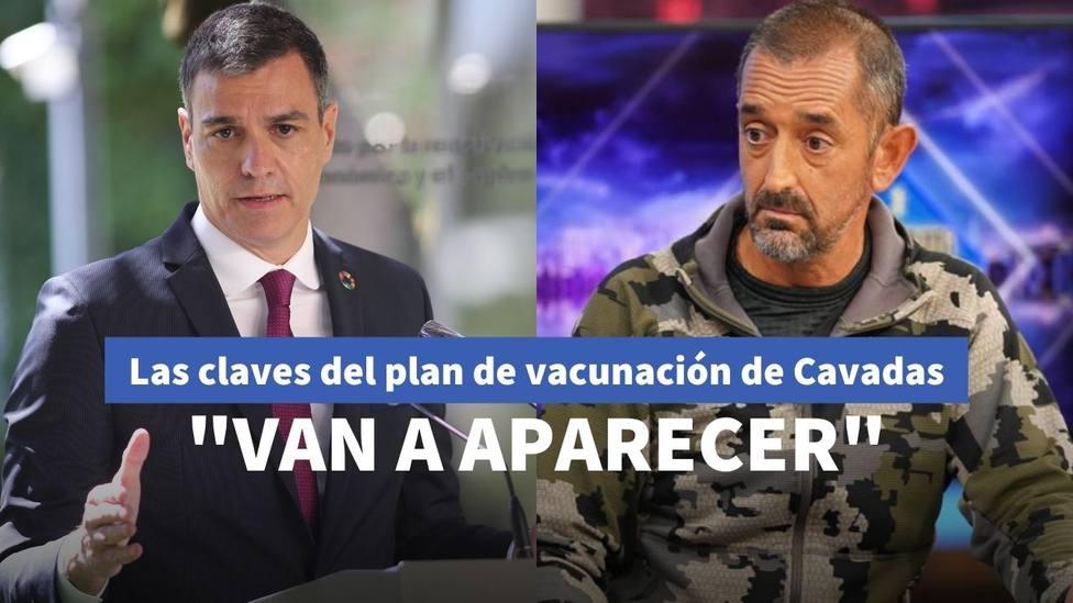 Pedro Sánchez y Pedro Cavadas
