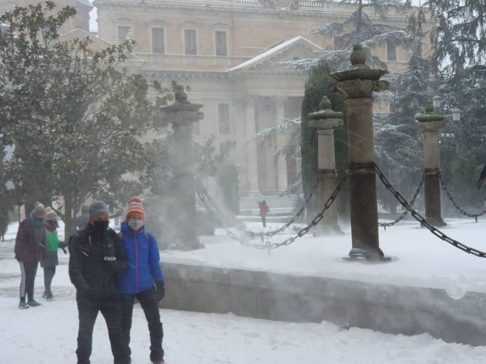 Temporal de nieve en Salamanca