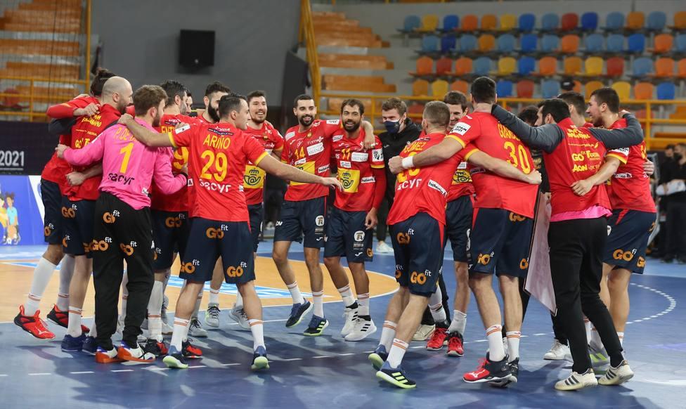 AV.- Balonmano/Selección.- España empieza la Ronda Principal del Mundial con una gran victoria (32-28) ante Alemania