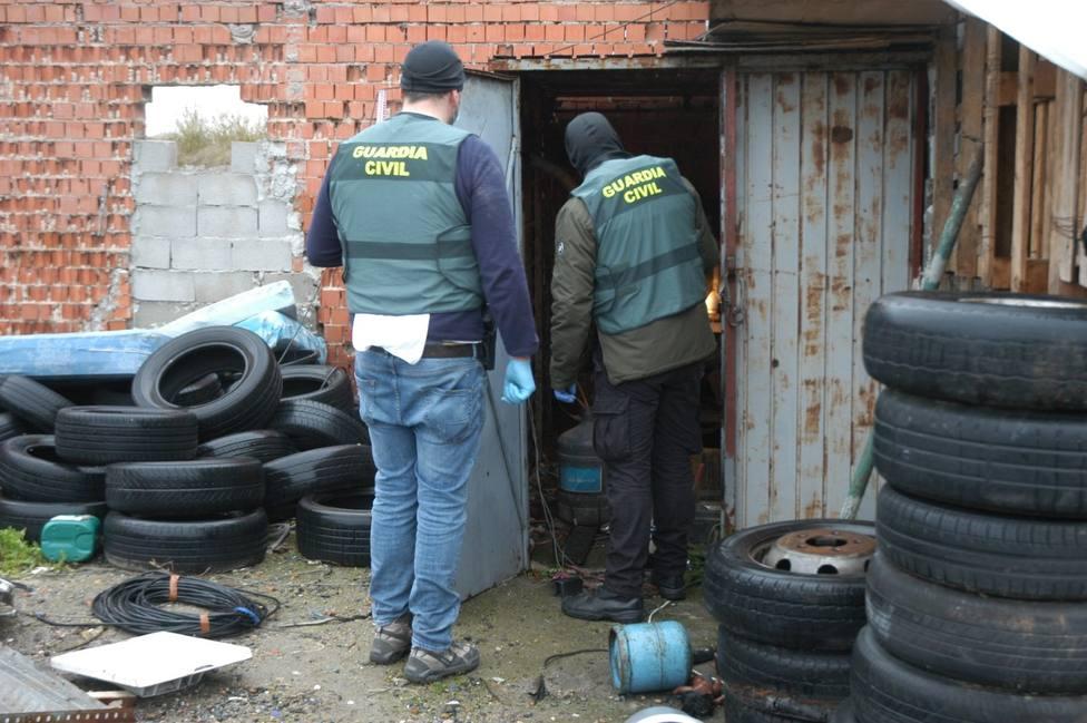 Desarticulan un grupo criminal dedicado a la comisión de robos en el interior de naves industriales