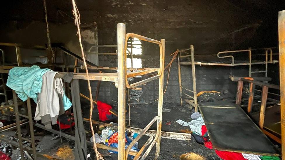 El PP denuncia ante la Fiscalía el incendio del centro de menores de Melilla y Vox exige la repatriación