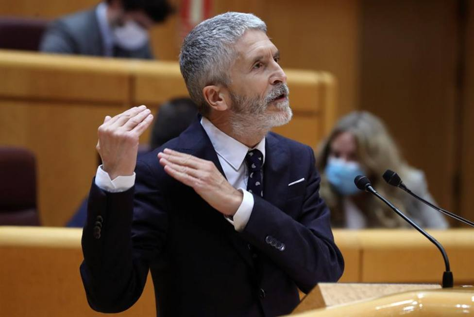 Sánchez respalda, de nuevo, a su ministro del Interior Fernando Grande Marlaska