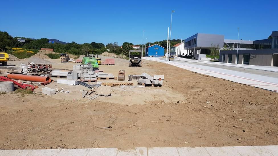 Zona en la que se materializará el nuevo aparcamiento