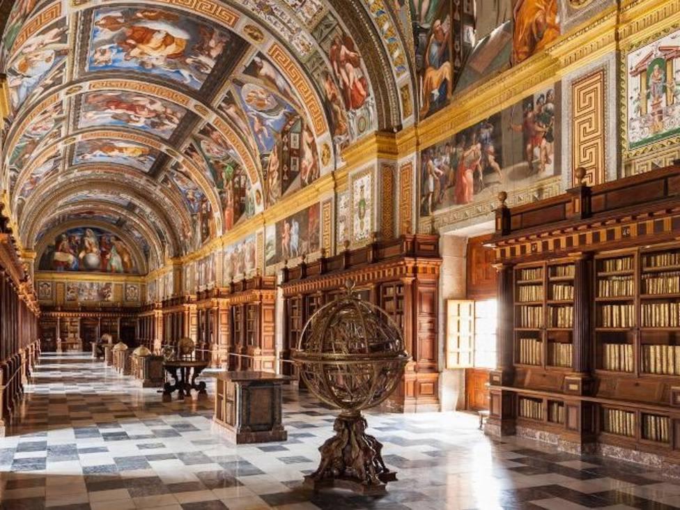Los códices están en la Biblioteca del Monasterio /Patrimonio Nacional