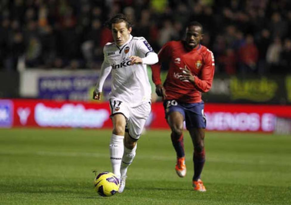 Guardado jugó en la última victoria che en Pamplona