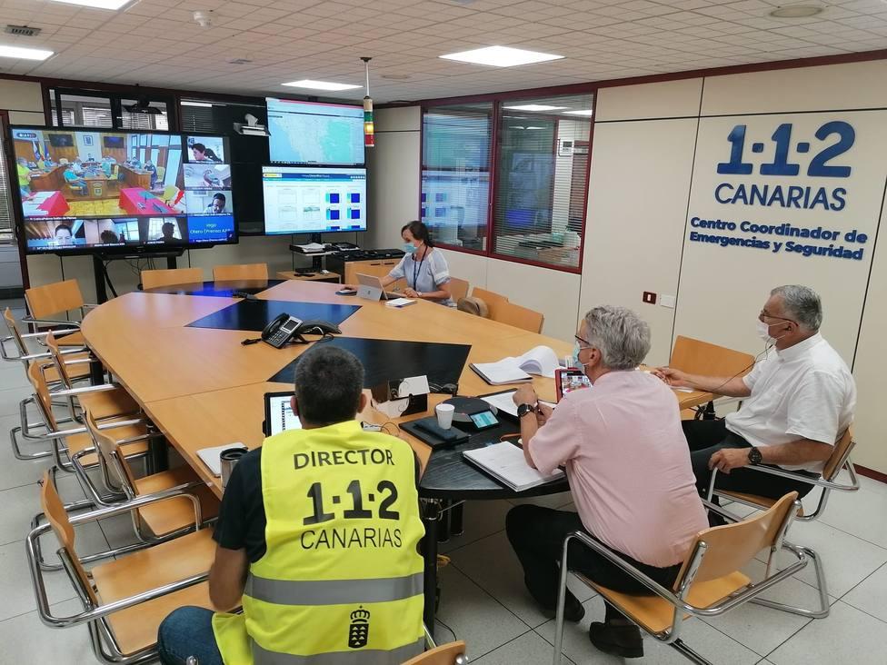 Comienza la evacuación preventiva de personas con movilidad reducida en núcleos de riesgo en La Palma
