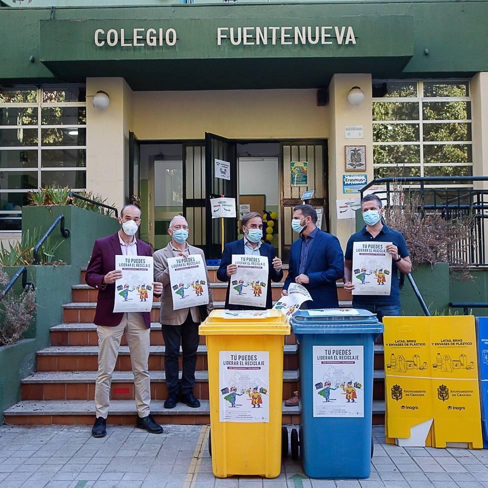 Campaña medioambiental en los colegios