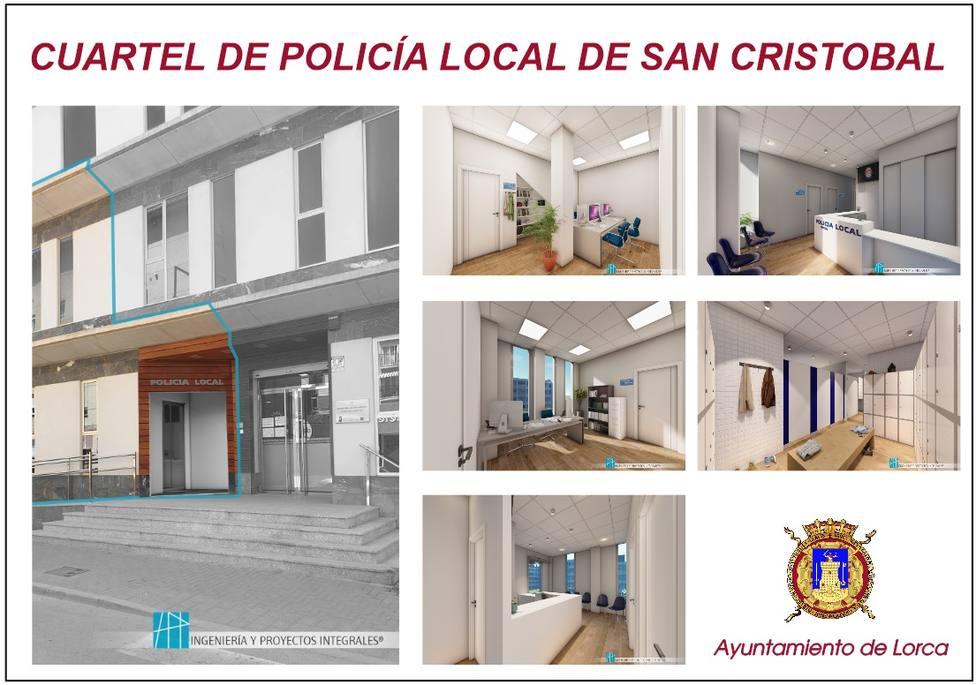 El Cuartel de Policía del Barrio San Cristóbal, más cerca
