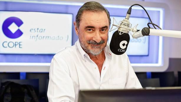 Carlos Herrera renueva con COPE tres años más