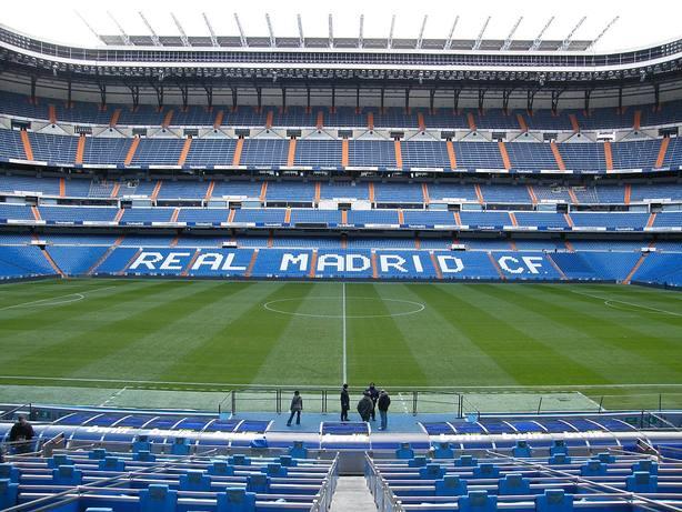 El estadio Santiago Bernabéu. Wikipedia