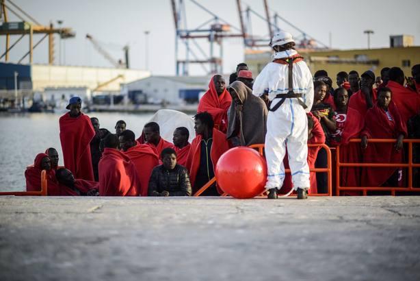 Nueva llegada de inmigrantes a las costas Españolas