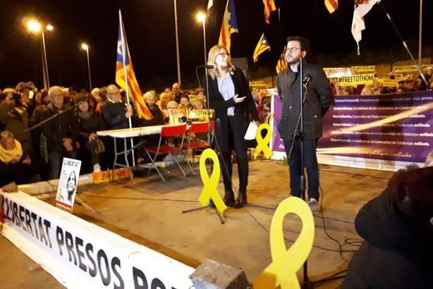 Pere Aragonès: El Estado español es una vergüenza y el poder judicial está comprado