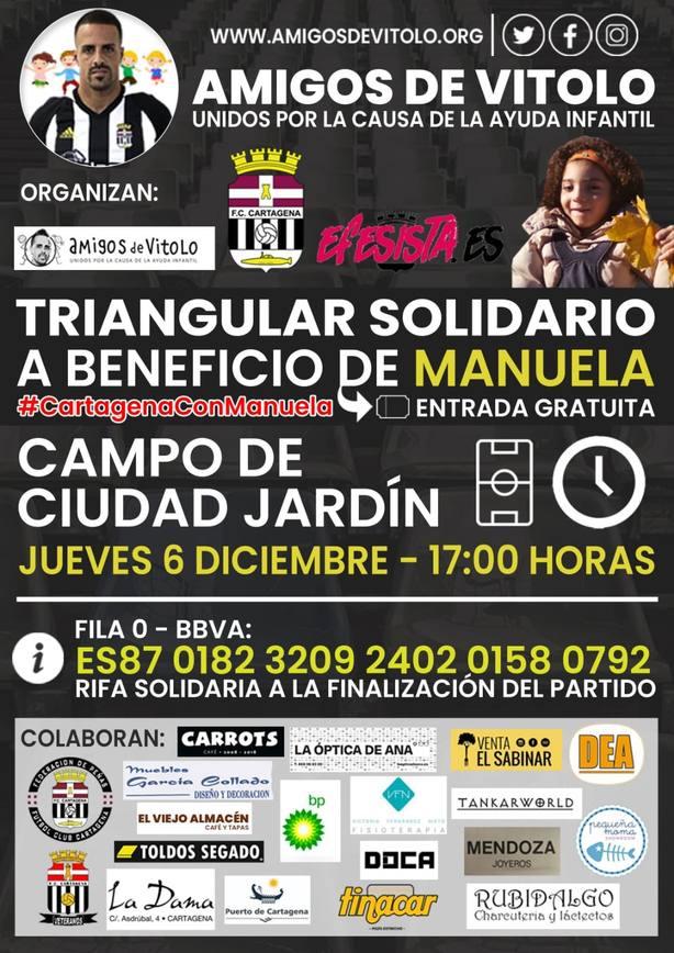 Cartagena se vuelca con Manuela