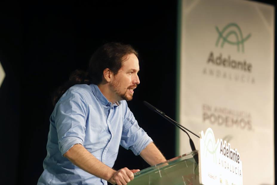 Iglesias anima a Ciudadanos a poner encima de la mesa un pacto alternativo sin Vox ni PP en Andalucía