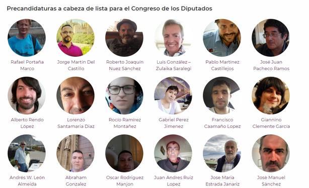 Los singulares rivales de Pablo Iglesias en las primarias de Podemos