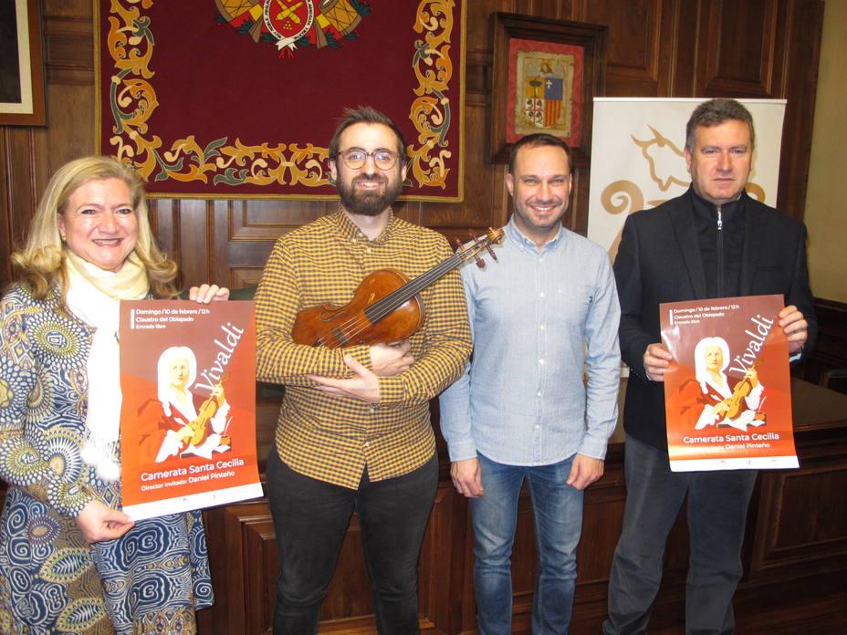 La Camerata Santa Cecilia ofecerá un concierto con obras de Vivaldi