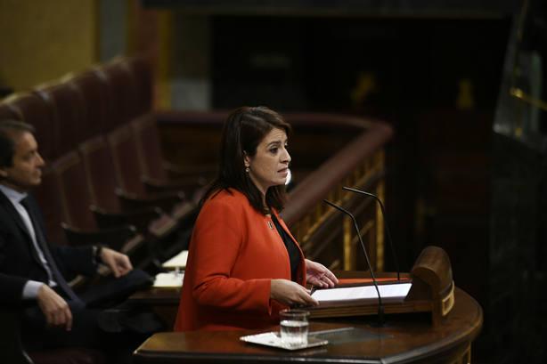 Lastra espeta al PP que traición a España es blanquear dinero con los 191 muertos del 11-M encima de la mesa