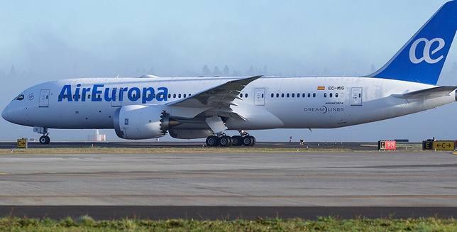 Air Europa es la única aerolínea española dispuesta a operar con el Boeing 737 MAX