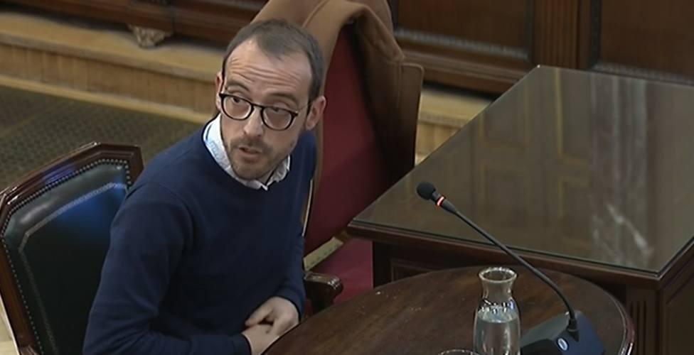 Procés.- La Fiscalía pide que se investigue por falso testimonio al responsable de Difusión de la Generalitat