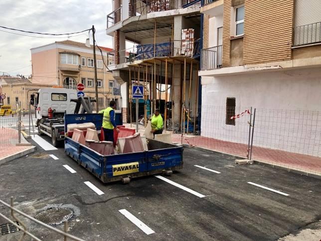 El jueves abre al tráfico la nueva conexión entre el barrio de El Carmen y el Infante