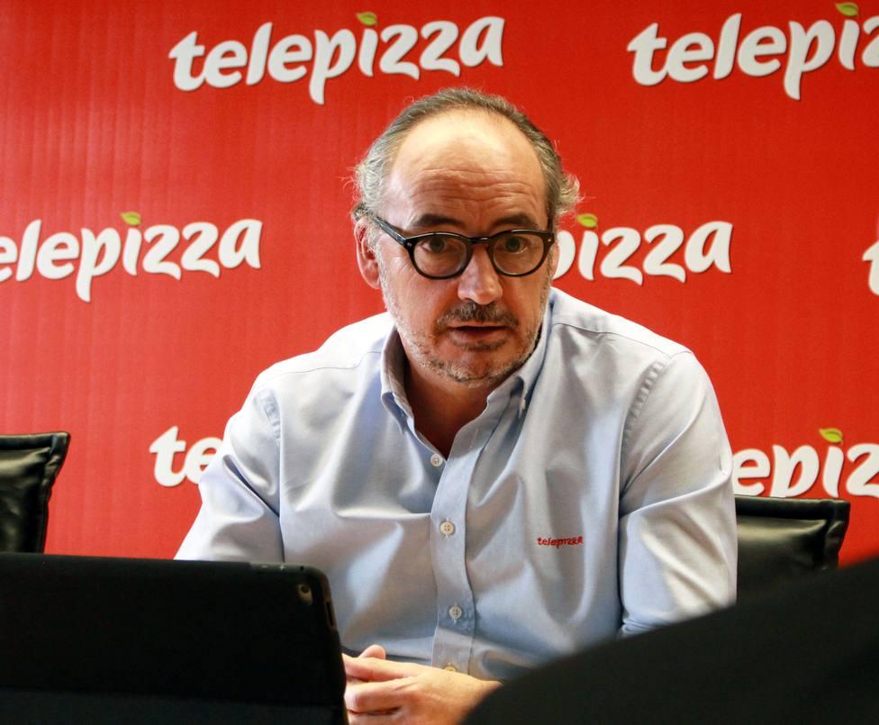 Juantegui (Telepizza) ganó 2,7 millones en 2018 tras cobrar bonus de 1,12 millones por alianza con Pizza Hut