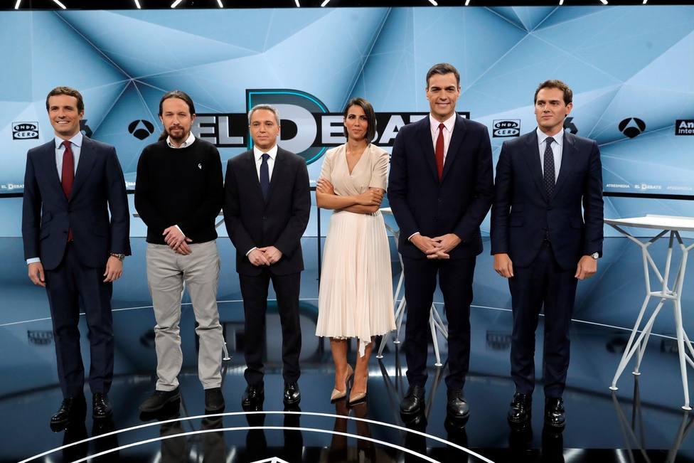 DIRECTO | Sigue el minuto a minuto del segundo debate electoral