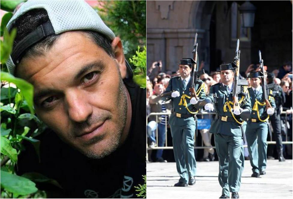 Frank Cuesta estalla en redes y manda un contundente mensaje a los 'haters' de la Guardia Civil