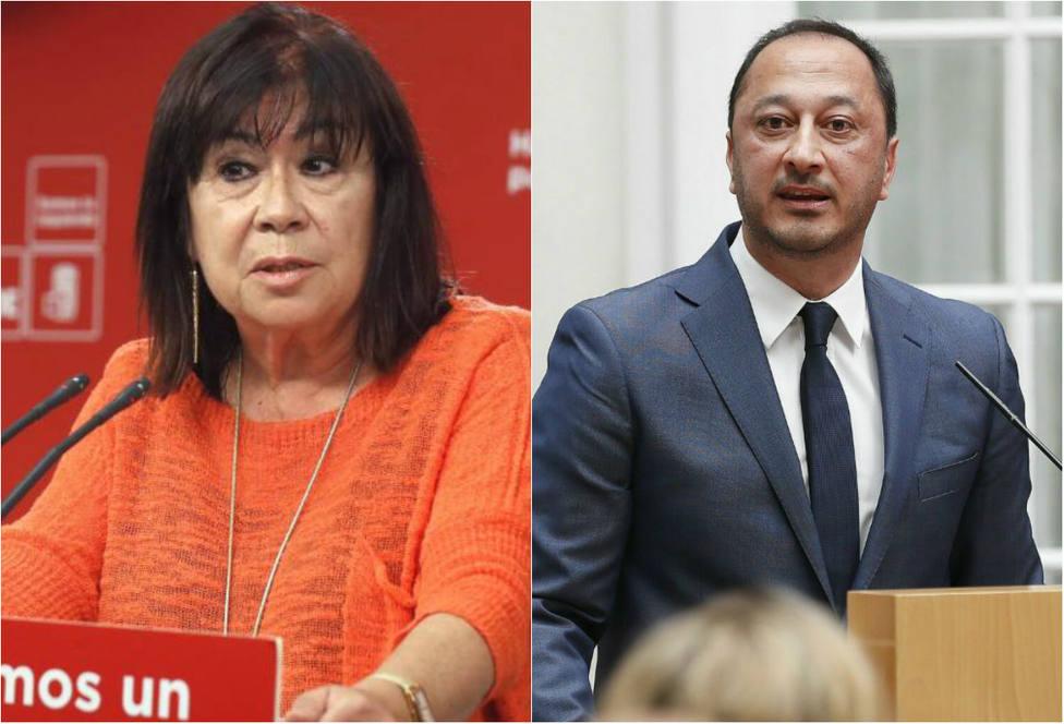 Cristina Narbona y Gómez de Celis serás vicepresidentes de Senado y Congreso