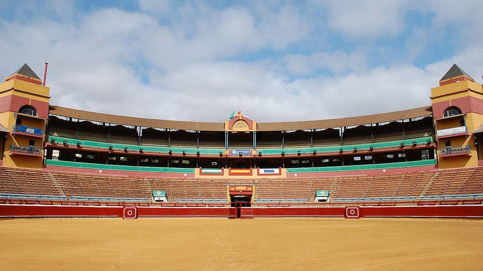La plaza de toros de La Merced de Huelva avanza en la confección de las Colombinas 2019