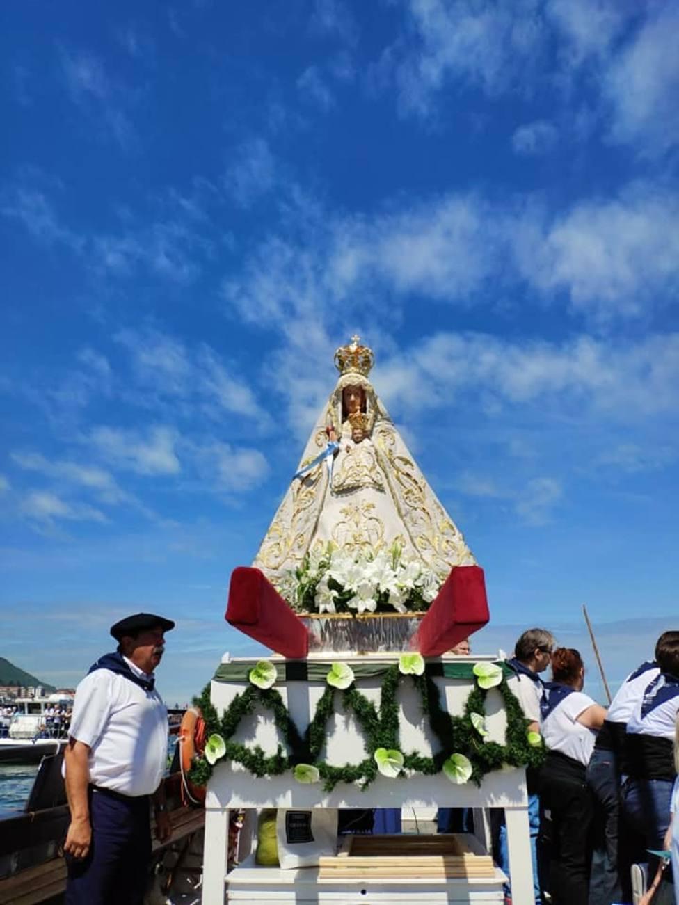 Peregrinación náutica de la Virgen de Begoña