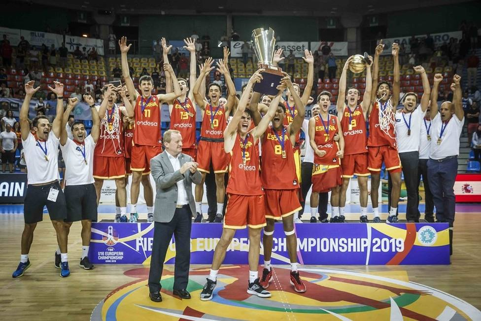 España conquista el oro europeo Sub-16 masculino