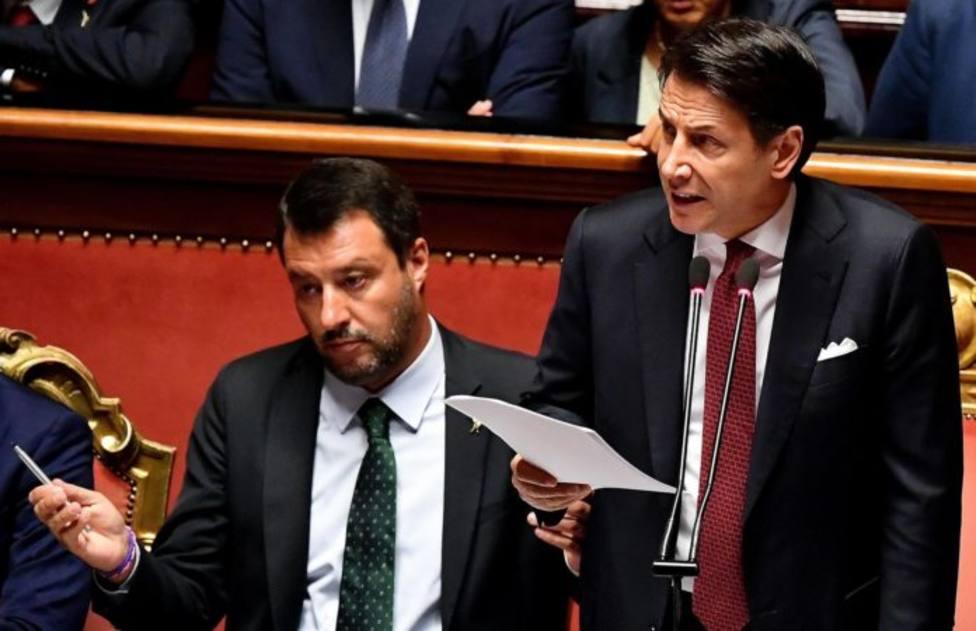 La mala relación entre Giuseppe Conte y Matteo Salvini acabó dinamitando el gobierno italiano