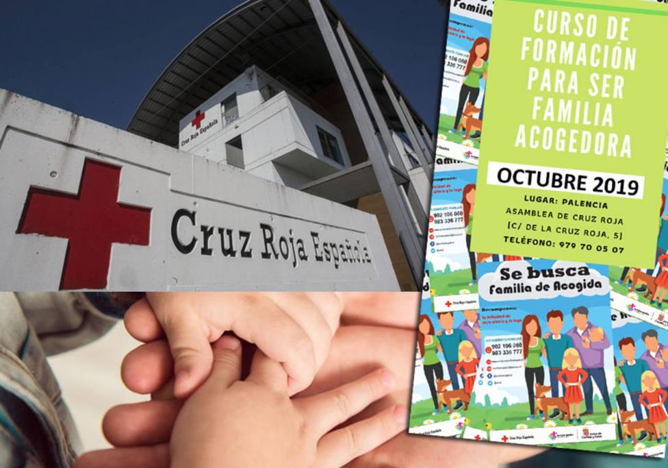 Cruz Roja Palencia programa un nuevo curso para preparar Familia de Acogida