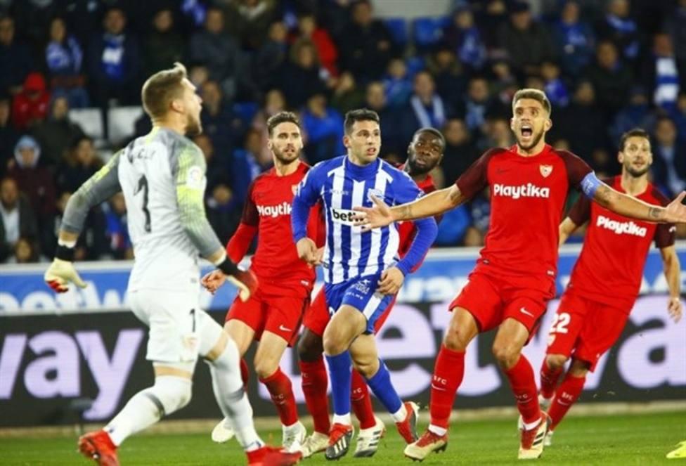 Alavés-Sevilla de la última temporada