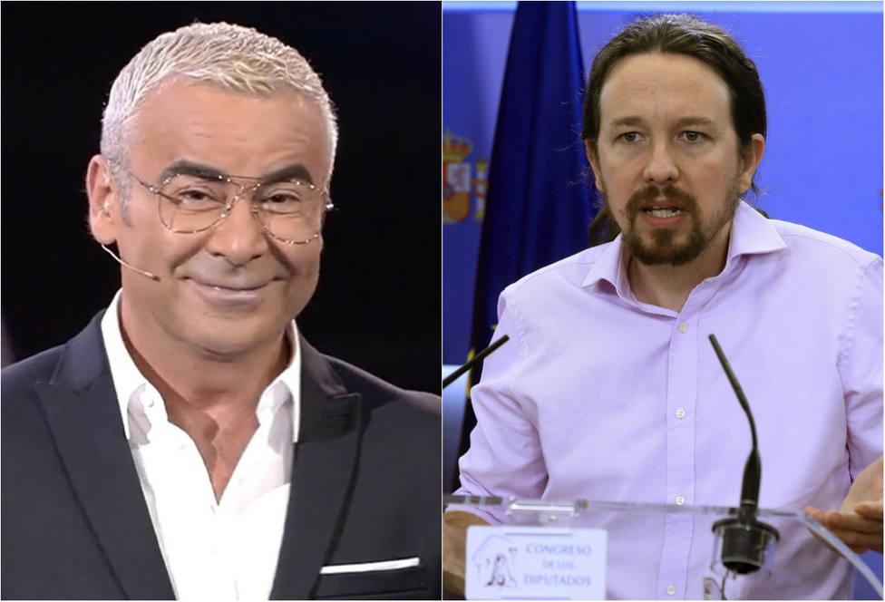 Jorge Javier Vázquez se burla de Iglesias y le compara con esta mítica sátira del mundo del cine