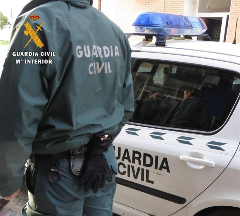 Foto de archivo de un agente de la Guardia Civil - FOTO: Guardia Civil
