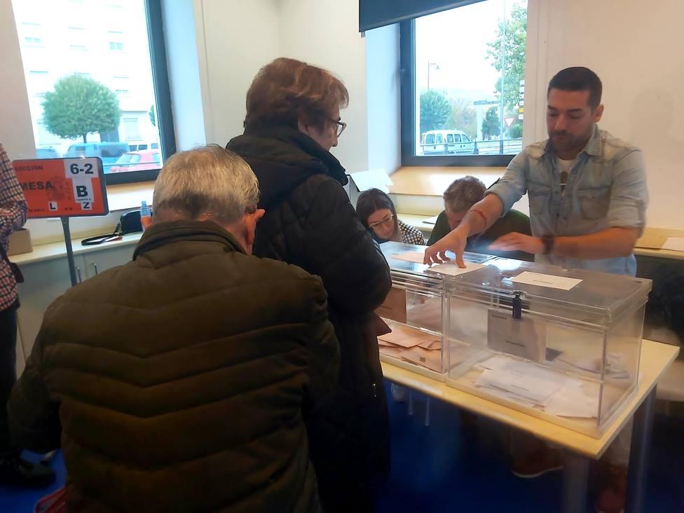 10N.- La participación en la jornada electoral en La Rioja se sitúa en el 57,33 por ciento a las 18:00 horas