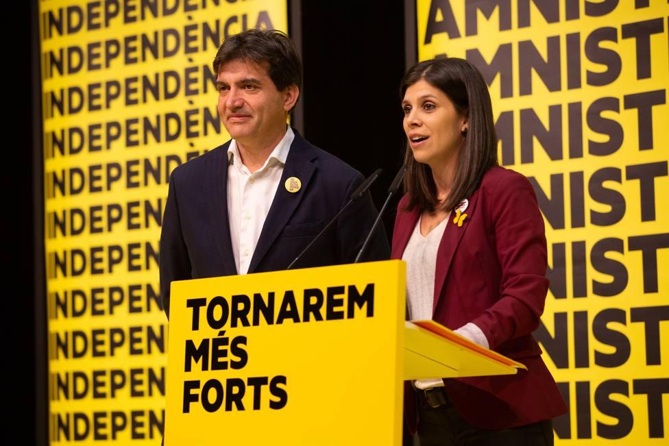 ERC se impone en Cataluña con 13 diputados, seguida del PSC con 12