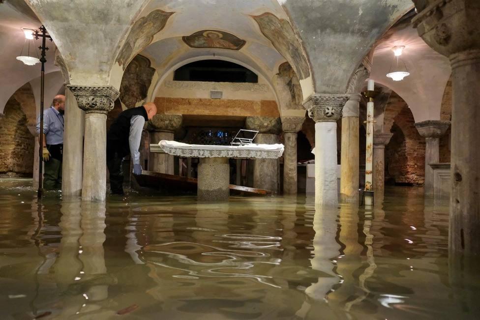 Venecia, daños enormes pero en la Basílica de San Marcos no son irreparables