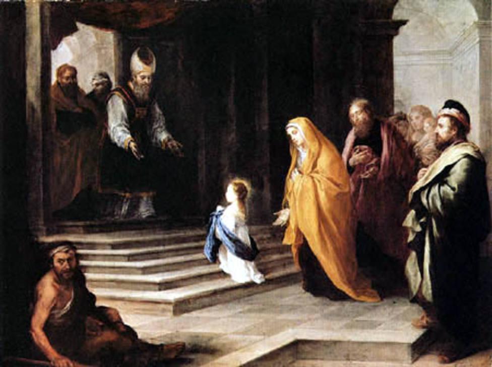 La Presentación de la Virgen: María, Nueva Eva, preludia a Cristo nuevo Adán