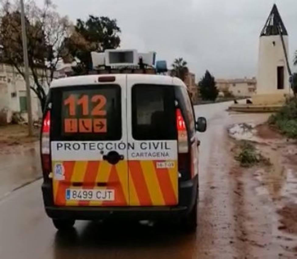 El Consistorio de Cartagena pide desalojar casas en Los Urrutias y Los Nietos por la alerta