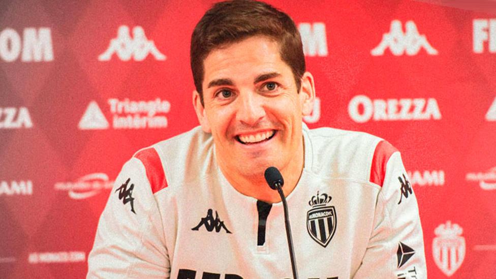 Robert Moreno, en rueda de prensa (FOTO: AS Monaco)