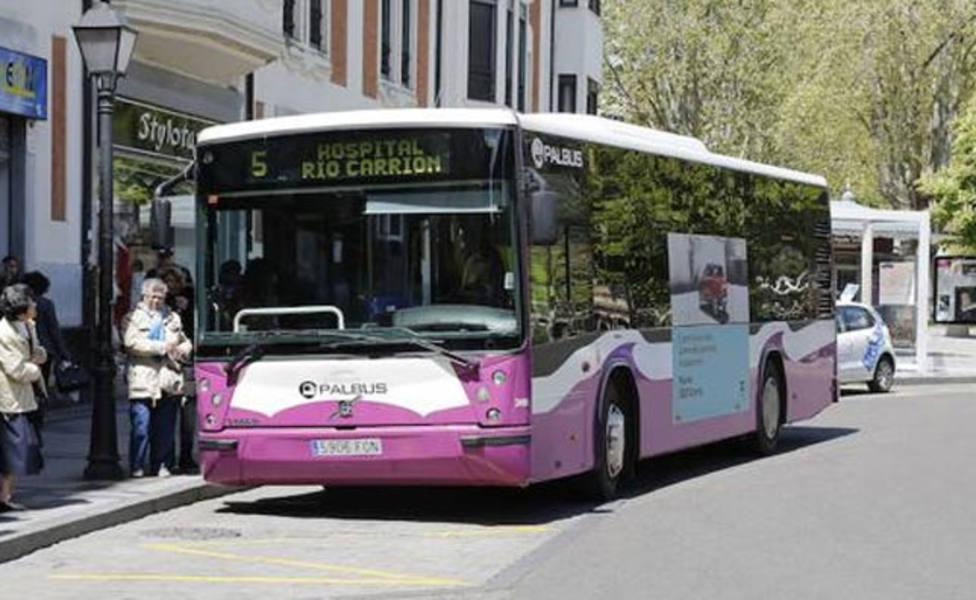 El transporte público en Palencia rompe la barrera de los 2,3 millones de usuarios
