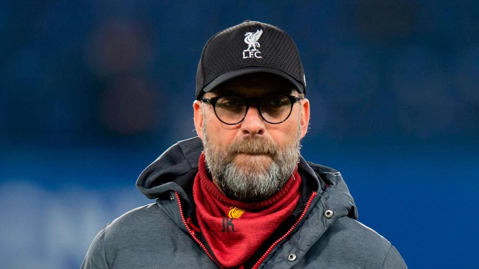 Jurgen Klopp, entrenador del Liverpool. CORDONPRESS